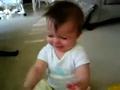 根据音乐变表情的可爱宝宝