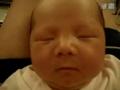 宝宝睡觉时丰富多彩的表情