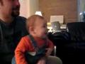 宝宝的笑声很爽朗啊