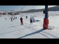 【拍客}三八妇女节  让老师们去滑雪
