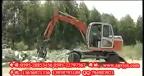 挖掘机图片现场施工视频/挖掘机农场工作视频