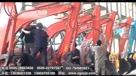 劲工挖掘机作业视频