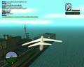 巨型飞机降落在航空母舰上 侠盗猎车手 圣安地列斯