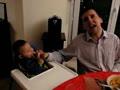 咬人的混血宝宝与爸爸的中国儿歌