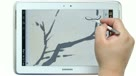 三星Galaxy Note 10.1国画梅兰竹菊演示视频教程之梅
