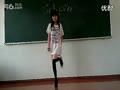【教室制服诱惑】丝袜美女热舞