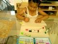 6岁小朋友江雨涵画画