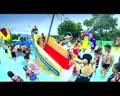中国好声音选手丁丁长隆水上乐园献唱