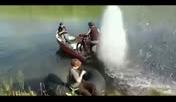 国外牛人改造摩托车一秒变摩托艇
