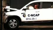 刷新C-NCA历史记录长安CS75碰撞测试59分!