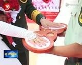 驻延公安边防部队为13对新人举办集体婚礼