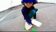 小正太滑电子滑板技术真不错