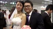 520表白日,百人集体婚礼亮相深圳地铁