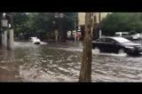 【拍客】上海暴雨 全城瘫痪