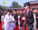 江西宜春:首届汉服成人礼 古文化新传承