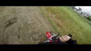 国外6岁的特技摩托车手
