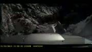 司机刹车不及 狂叫滚下悬崖