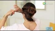 女生盘发 2 Minute Elegant Bun Hair Tutorial - Luxy Hai