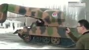 """内蒙古惊现""""坦克""""铲雪"""