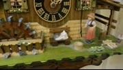小懒猫和大公鸡德国黑森林咕咕钟