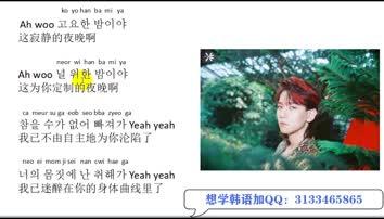 【韩语学习-韩流音乐】EXO-《ko  ko  bop》洗脑神曲,超级简单轻松学会