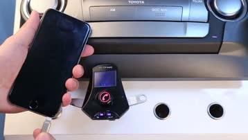GXYKIT M7S车载蓝牙免提MP3播放器车载充电器FM发射器