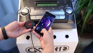 GXYKIT Q7S 车载蓝牙免提MP3播放器车载充电器FM发射器语音播报导航扩音