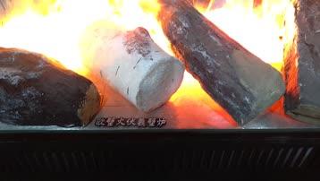 北京万科工地样板伏羲3d雾化电壁炉