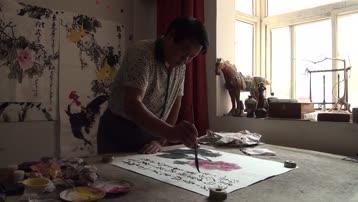 笔耕不辍    艺无止境------李一田的艺术人生(电视片)