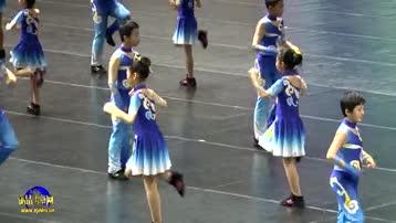 魏一小参加北京市第二十届学生艺术节民族韵律操展示活动