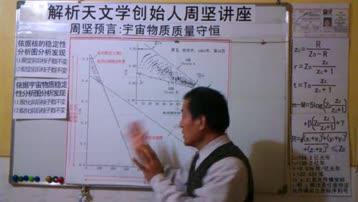 周坚预言:宇宙物质质量守恒 解析天文学创始人周坚讲座
