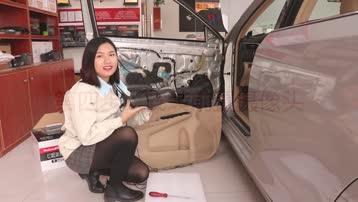 道可视360°全景行车辅助系统拥有前停靠模式,美女教你安装
