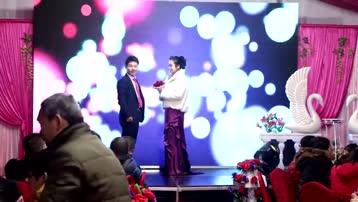 宋敏、盛灵煜新婚多位明星发来祝福。