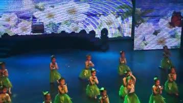 童舞《亲亲茉莉花》由中国舞3级B班表演