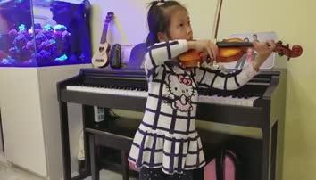 张馨悦  小提琴 幼儿组 杭州孙立敏小提琴选送
