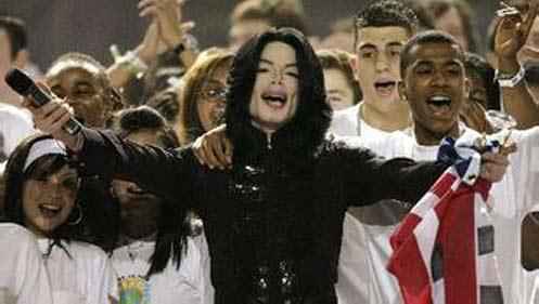 迈克尔-杰克逊的慈善事业