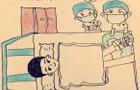 暖心!护士画漫画鼓励患者