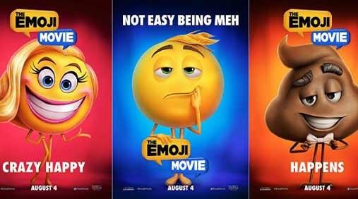 "《Emoji大电影》表情""无聊""出镜"