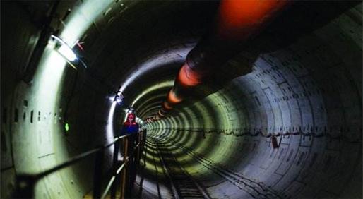 点赞!全国最长地铁重叠隧道贯通