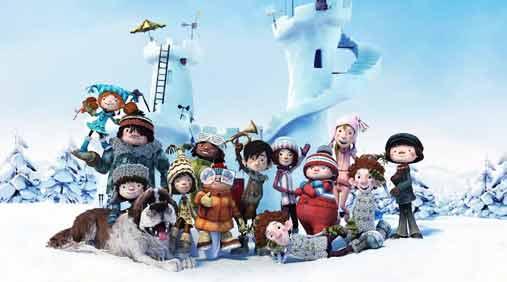 动画电影《冰雪大作战》破冰来袭