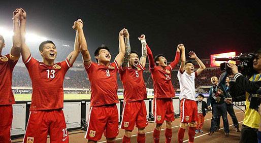 国足十二强赛首胜 战长沙:中国1球击败韩国