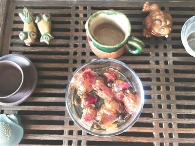 菊花、桂花等花不仅有观赏价值,更可养生。图/广州日报全媒体记者张青梅