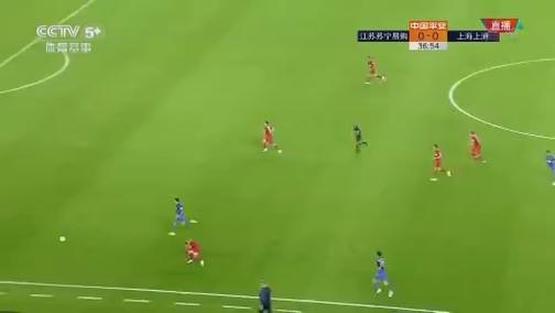 [中超]埃德尔下底传中 特谢拉头球攻门被扑