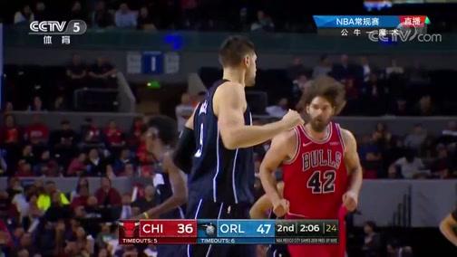 [NBA]武切维奇手感火热 弧顶三分百步穿杨