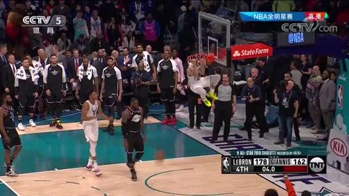 [NBA]小学生终于圆梦!库里上演击地反手暴扣