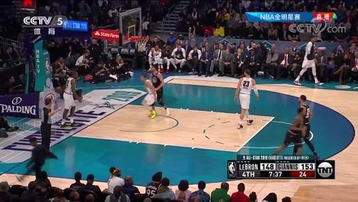[NBA]莱昂纳德持球推进 外线命中展现三分实力