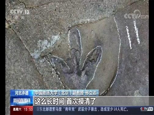 [新闻直播间]河北承德 避暑山庄发现大量侏罗纪恐龙足迹