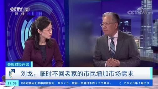 [央视财经评论]刘戈:临时不回老家的市民增加市场需求
