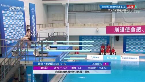 [游泳]东京奥运会跳水选拔赛 双人3米板决赛