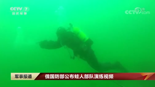 [军事报道]俄国防部公布蛙人部队演练视频